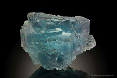 Fluorite from La Viesca Mine, Huergo, La Collada mining area, Siero, Asturias, Spain