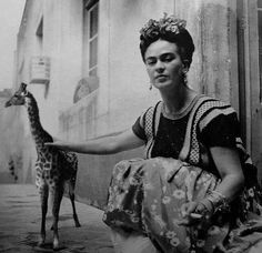 Who cares about the woman I want the tiny giraffe!