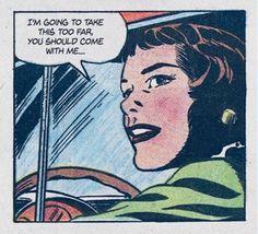 (1) Tumblr Comic Art, Comic Books, College Memes, Comic Book Panels, Show Me The Way, Horror Comics, Vintage Comics, Vintage Art, Vintage Ladies