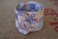 Silk Necktie Bracelet by Ramshackles on Etsy, $10.95