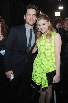 His hair... his everything. Her dress!! --- People's Choice Awards