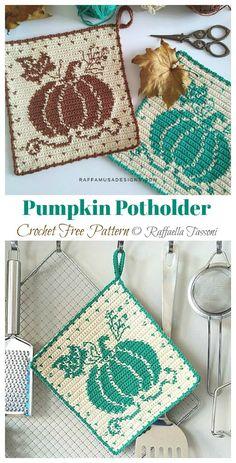 Crochet Placemats, Crochet Potholders, Free Crochet Potholder Patterns, Crochet Leaf Free Pattern, Crochet Coaster Pattern, Crochet Kitchen, Crochet Home, Crochet Gifts, Crochet Leaves