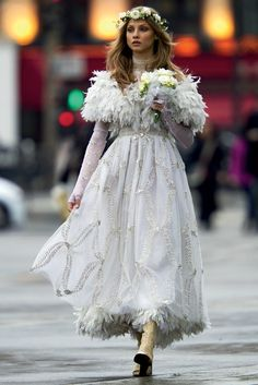 Street Style,Anna Seleznevaby Hans Feurer / Antidote Spring 2013