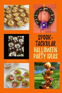 Ready for Halloween? If not, here are some spook-tacular, not-so-gruesome Halloween ideas for spooky outdoor decorations and scary good treats you can make! Halloween decor | Halloween party ideas |outdoor Halloween decorations | Halloween recipes