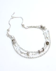 $27.95 Haze Necklace It is crystal clear why you need this fabulous necklace!  Vi Bella Jewelry   Handcrafted by women in Haiti