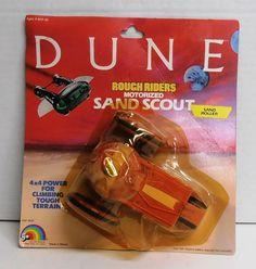 1984 Dune Rough Riders Motorized Sand Roller by LJN NIP #LJN