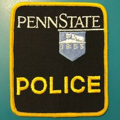 US State of Pennsylvania, Penn State University Police Department Patch