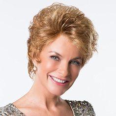 Platinum Confidence Wig Toni Brattin Monofilament Lace Front Soft Body Curls Shag Curly Women's Wig – Medium Brown