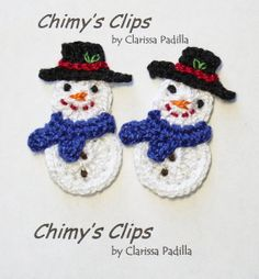 Frosty The Snowman Handmade Appliques Christmas