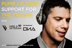 Pump up your support for veterans! Monster has created a very cool, limited edition headset - the DNA Camo! Viacom, Best Buy and Monster have agreed to donate a portion of the proceeds from the sales of these headphones to Spike TV's Hire A Vet non-profit program partners: Iraq and Afghanistan Veterans of America, Got Your 6 and Goodwill Industries International, Inc.! The DNA Camo is available exclusively at Best Buy, www.Bestbuy.com and Best Buy Mobile specialty stores.