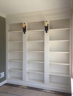 PRESOTTO | Pari & Dispari corner bookcase with a matt bianco ...