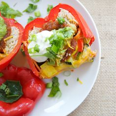 http://keepyourdietreal.com/food/vegetarian/mexican-stuffed-peppers-step-by-step/