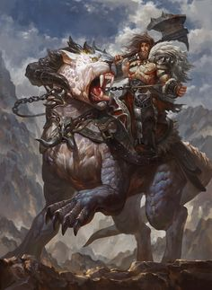 Berserker by ~friendhaircut on deviantART #Warrior