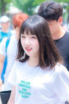 [ 예린 ] remember this Yerin's bangs ? 🤣❤ too short and so cute thoo ! South Korean Girls, Korean Girl Groups, Sinb Gfriend, Phil Collins, G Friend, Music Photo, Ulzzang Girl, Kpop Groups, Korean Singer