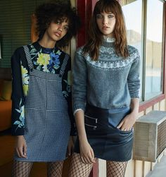 'Driving to Nowhere' Grace Hartzel and Shelby Hayes for MANGO October 2016 Campaign
