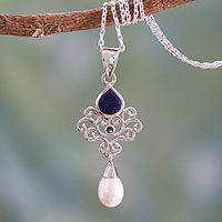 Azure Crown from @NOVICA, They help #artisans succeed worldwide.