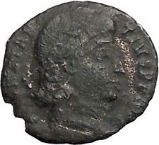 CONSTANTIUS II son of Constantine the Great Ancient Roman Coin Wreath i56124