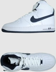 d08c3c71c5507 Nike High Top Sneakers for Men | Nike Air Force 1 High Top Sneakers in  White. Lyst