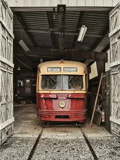 Old Toronto Streetcar - Bloor & Parliament