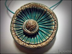 Polymer Clay Pendant | Flickr - Photo Sharing!