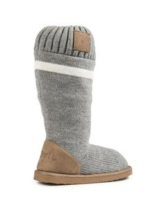 Fleece Knit Boots | Woolworths.co.za