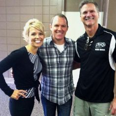 My husband KC and I with our friend Carl Daikeler; CEO of Beachbody :)