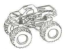 http://colorings.co/monster-trucks-coloring-pages/ #Coloring, #Monster, #Pages, #Trucks