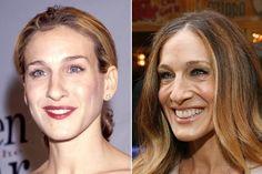 celebrities then and now | Celebrities - Now & Then: Sarah Jessica Parker, Catherine Zeta-Jones ...