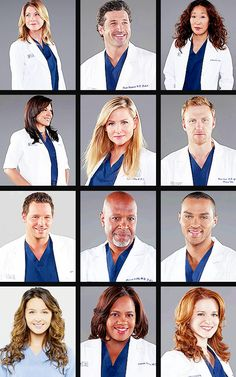Grey's Anatomy Season 10 Cast