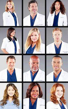 Grey's Anatomy Season 10 Cast