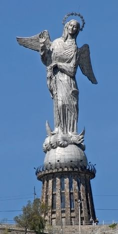 The Virgin of El Panecillo, Quito, Ecuador