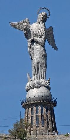 The Virgin of El Panecillo, Quito, Ecuador