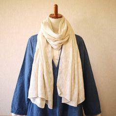 ずっと巻いていたい。とろけるような柔らかさの手織りのヘンプストール|麻布樂(まふら) エシカルファッションノート