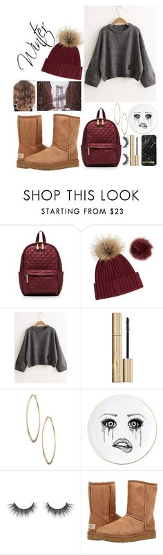 """Winter"" by aliceandersson2 ❤ liked on Polyvore featuring M Z Wallace, Overland Sheepskin Co., Stila, Lydell NYC, Lauren Dickinson Clarke and UGG Australia"