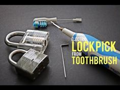 Make an Electric Lockpick from an Electric Tootbrush - YouTube