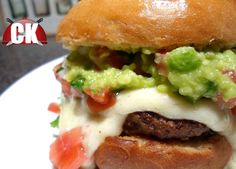 Fiesta Burger - Chef Kendra's Easy Cooking!
