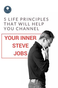 5 Life Principles That Will Help You Channel Your Inner Steve Jobs Digital Marketing Strategy, Email Marketing, Content Marketing, Social Media Marketing, Internet Marketing, Changing Jobs, Social Media Channels, Steve Jobs, Daily Motivation