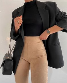 Fashion Inspiration And Casual Outfit Ideas For Women - Fashion Inspiration And Casual Outfit Ideas For Women Casual Outfits, Street Style Clothes, Outfi - Winter Fashion Outfits, Mode Outfits, Cute Casual Outfits, Look Fashion, Fall Outfits, Fashion Women, 70s Fashion, Korean Fashion, Fashion Online