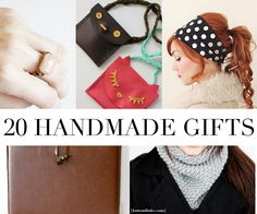 Giving handmade gifts can sometimes feel a little, well, cheap. Like we're phoning it in, right? I am on a mission this year to make some amazing gifts that people will love and use! Here are my favorite tutorials from around the web that would make fantastic gifts you'll feel proud giving! They're all super simple, so you…