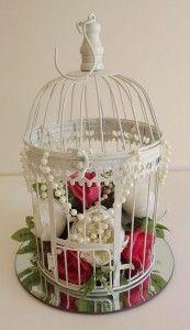 Vintage Wedding Bird Cage