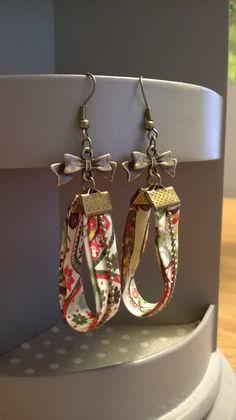 Boucles d'oreilles liberty : Boucles d'oreille par ce-crea-bijoux