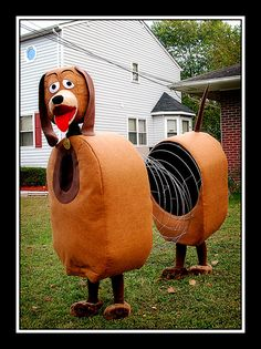 DIY Toy Story  Slinky Dog Costume