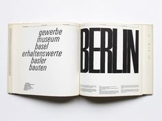 """Emil Ruder: """"Typography: A Manual of Design"""". Teufen: Niggli, 1965. 1st Edition."""