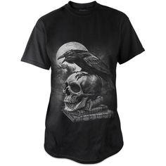 Poe's Raven men's t-shirt by Alchemy Gothic