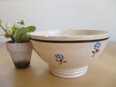 1930 Antique français bol en céramique café au par froufrouretro, €17.00