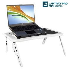 Mesa Portátil con Ventilador Laptray Pro Mini