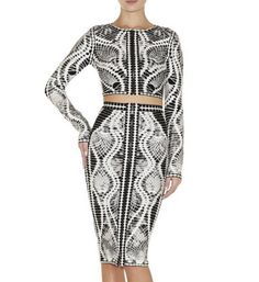 Cameo Two-Piece Dress – Catwalk Connection