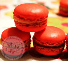 Macarons  Recipe: http://ildolcemondodipaoletta.forumfree.it/?t=68165597