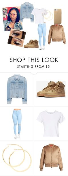 """I could neva lose wat yhu thought"" by ziyah-mesy ❤ liked on Polyvore featuring rag & bone, NIKE, RE/DONE and Givenchy"
