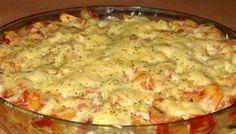 Zapečené pizza těstoviny | NejRecept.cz
